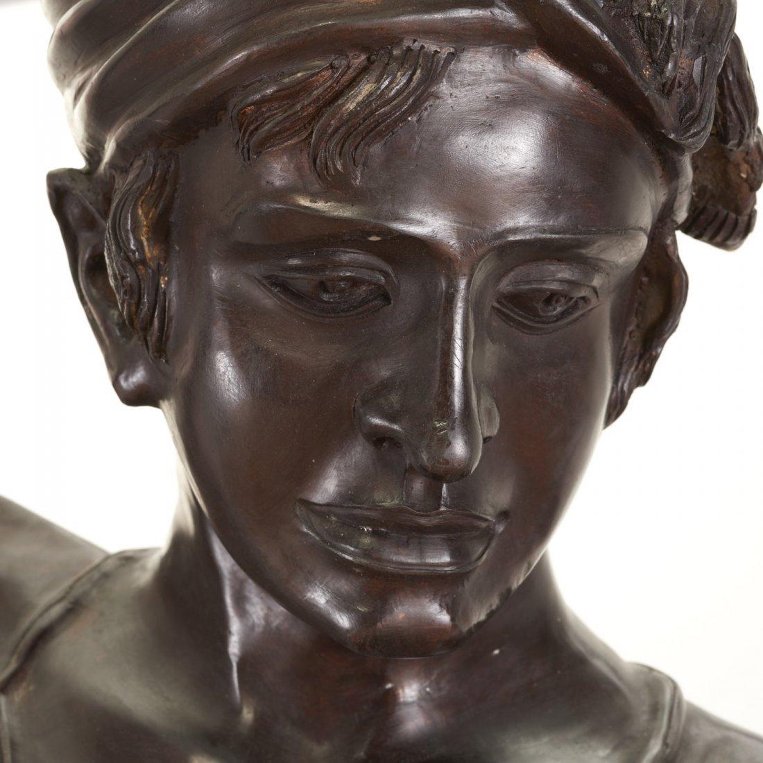 After Antonin Mercie, life-size bronze - 2