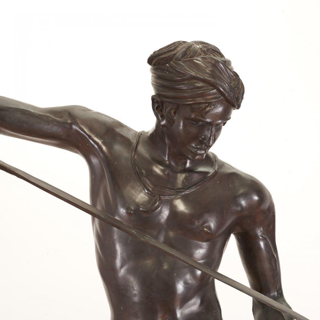 After Antonin Mercie, life-size bronze - 3