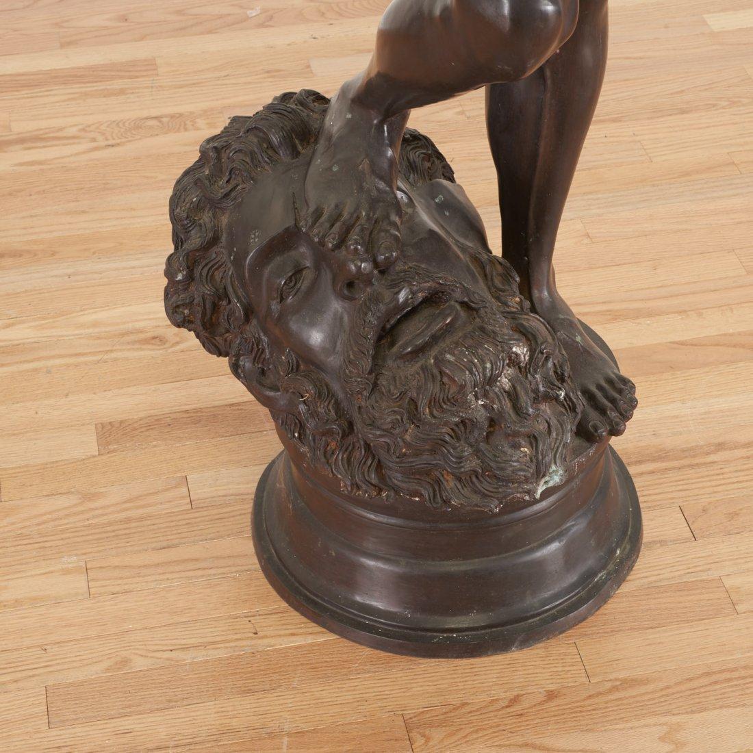 After Antonin Mercie, life-size bronze - 4