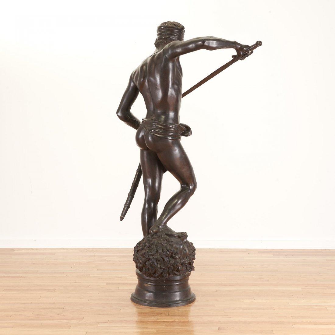 After Antonin Mercie, life-size bronze - 5