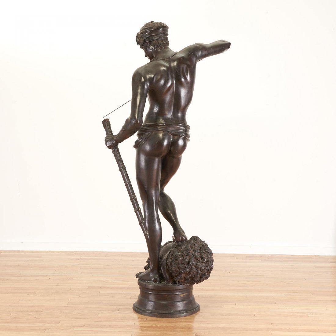 After Antonin Mercie, life-size bronze - 6