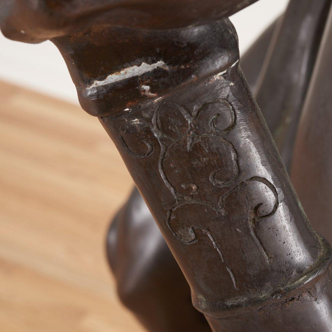 After Antonin Mercie, life-size bronze - 8
