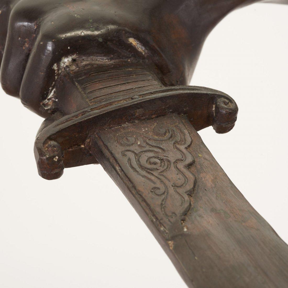 After Antonin Mercie, life-size bronze - 9