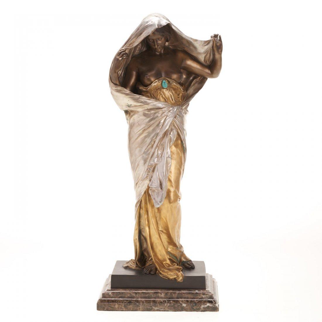 Louis-Ernest Barrias, bronze sculpture