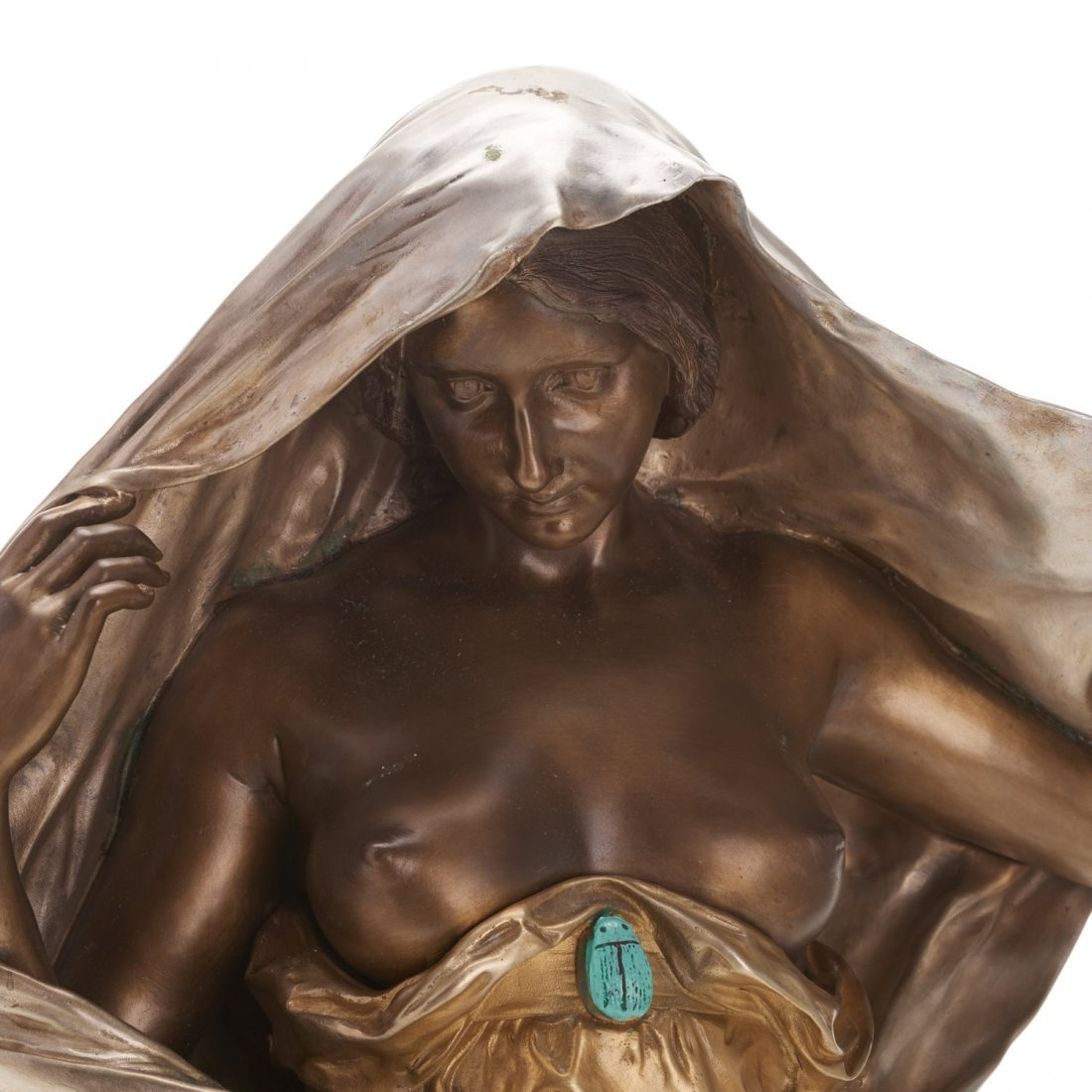 Louis-Ernest Barrias, bronze sculpture - 2