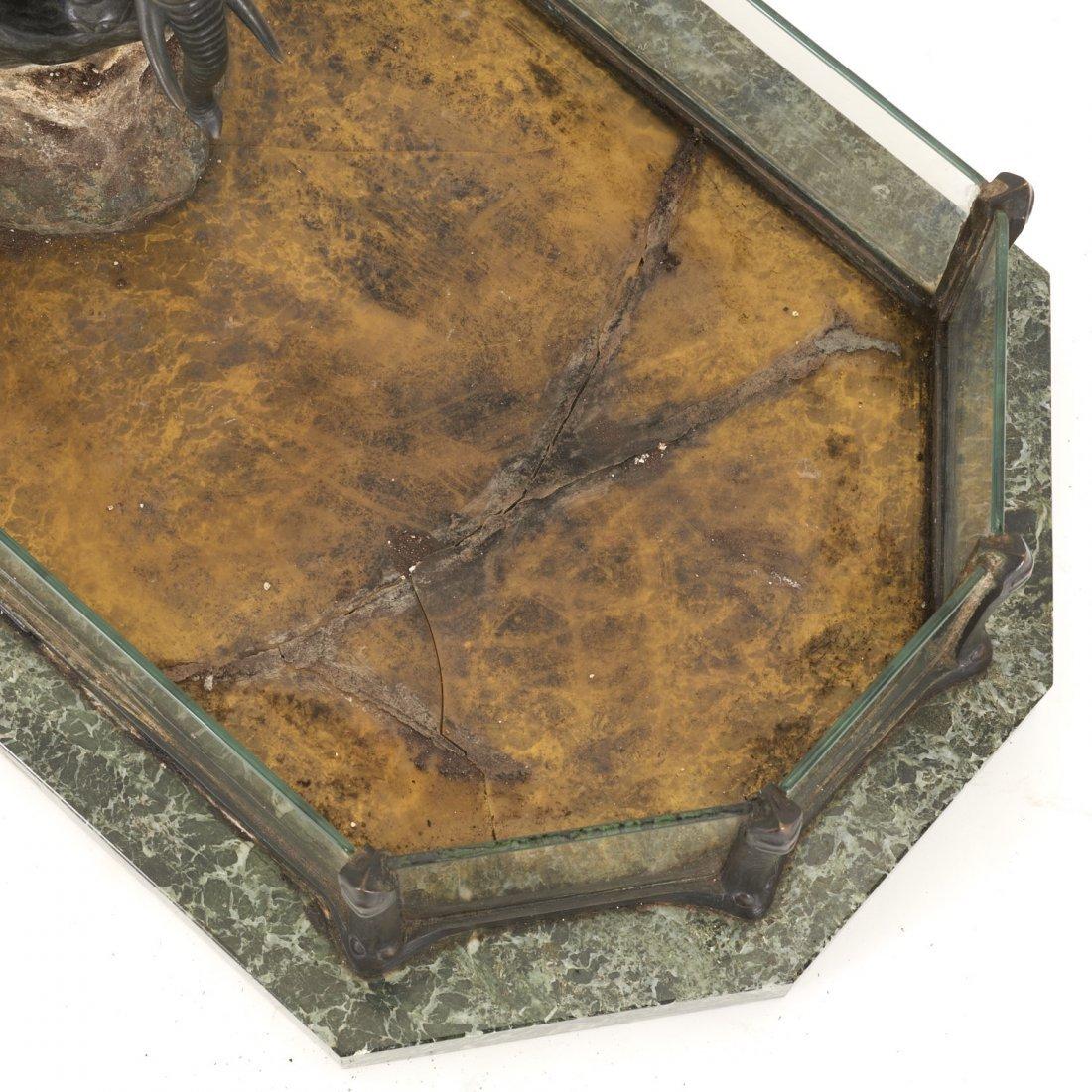Austrian bronze, marble planter by T. Ullmann - 7