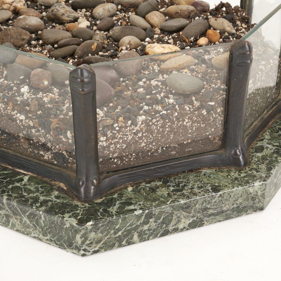 Austrian bronze, marble planter by T. Ullmann - 8