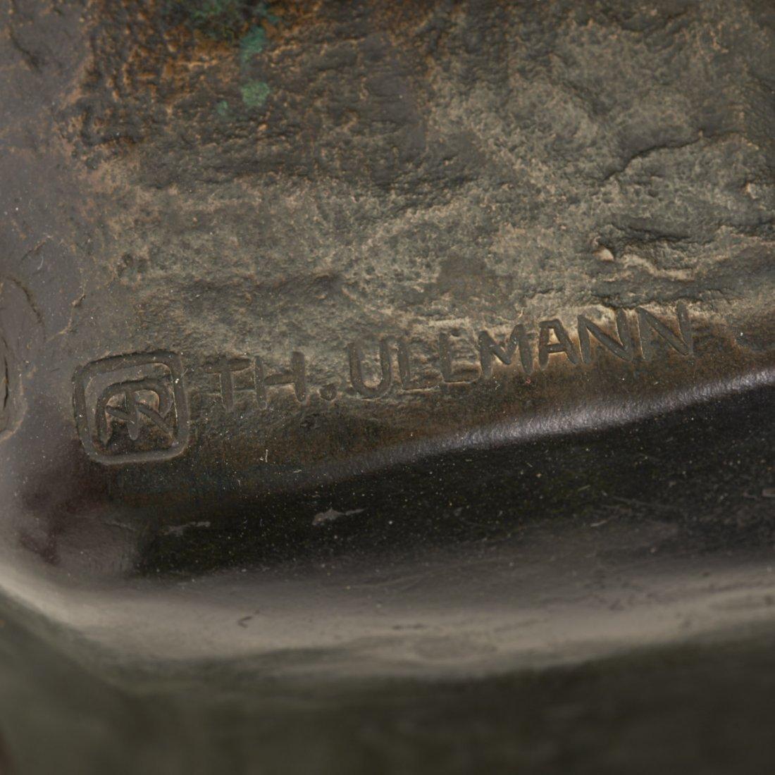 Austrian bronze, marble planter by T. Ullmann - 9