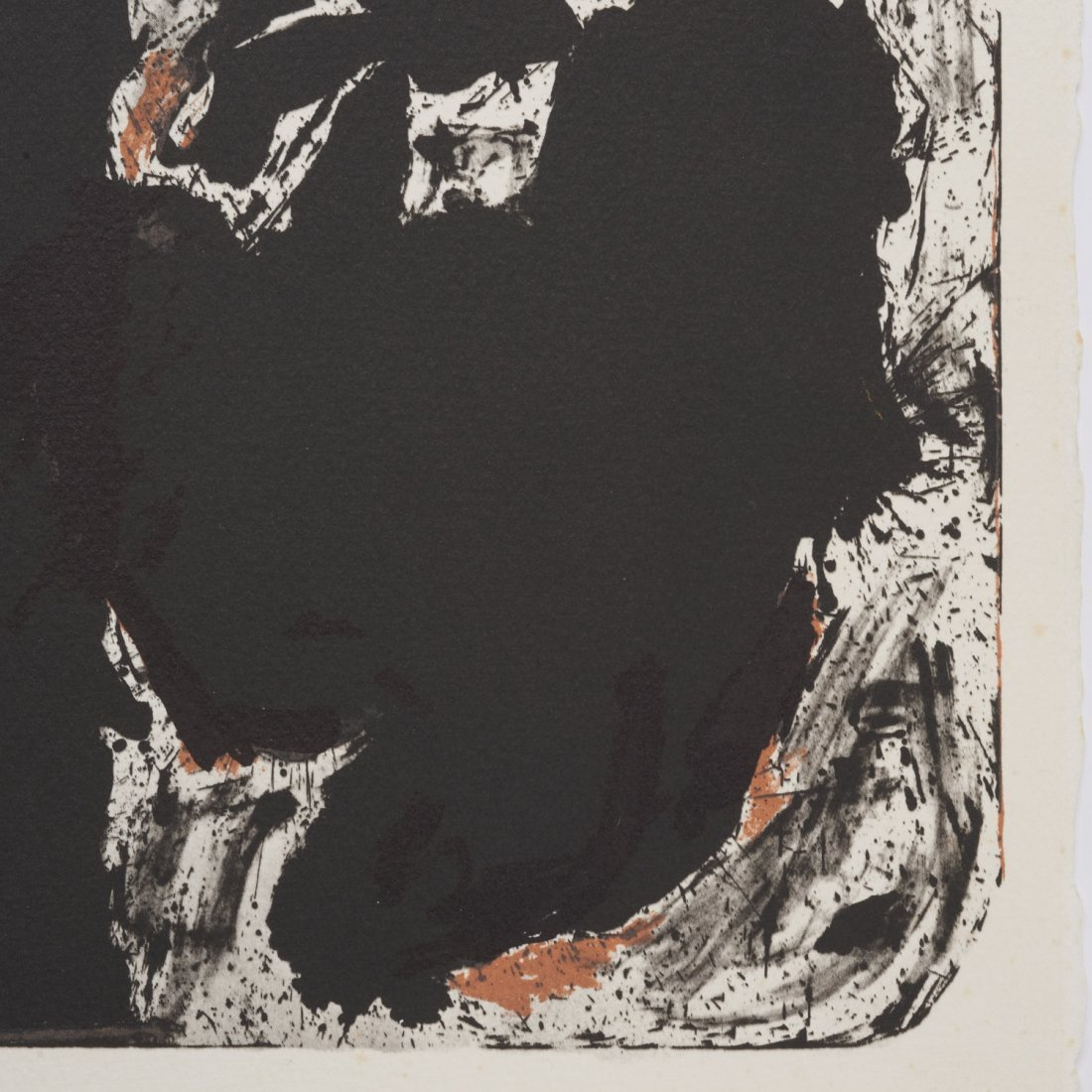 After Robert Motherwell, lithograph - 2