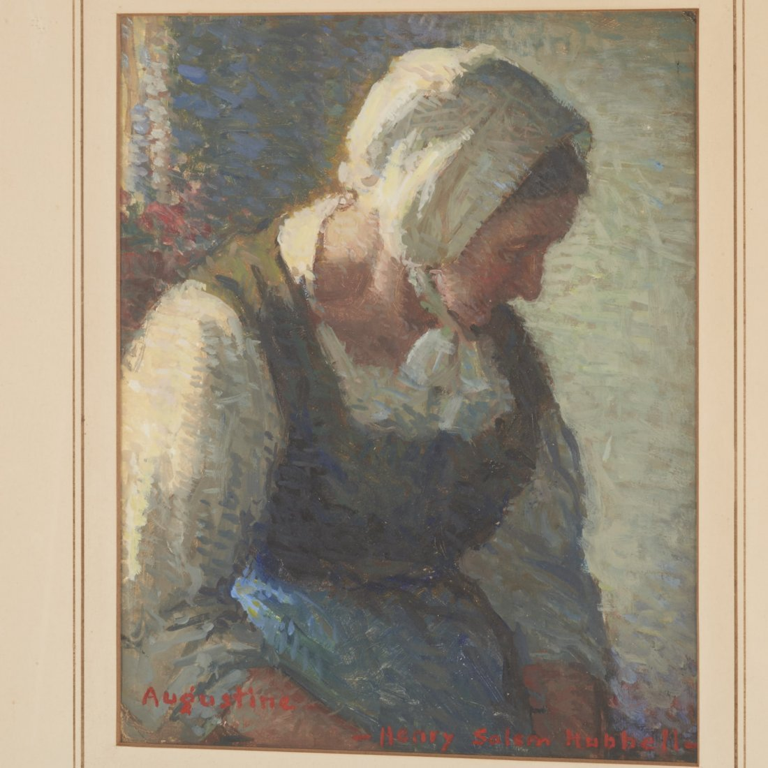 Henry Salem Hubbell, painting - 2