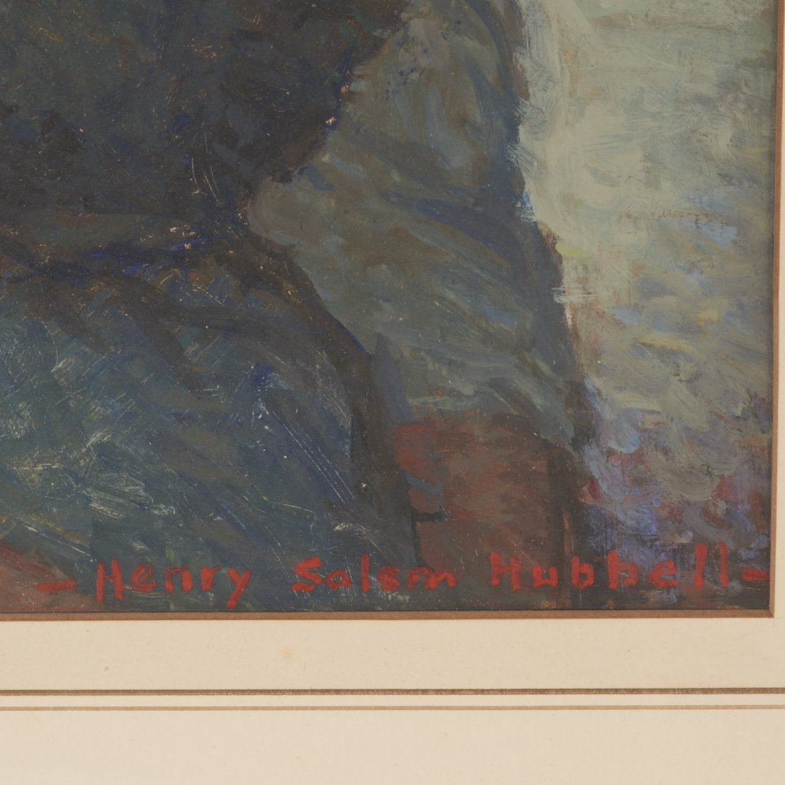 Henry Salem Hubbell, painting - 4