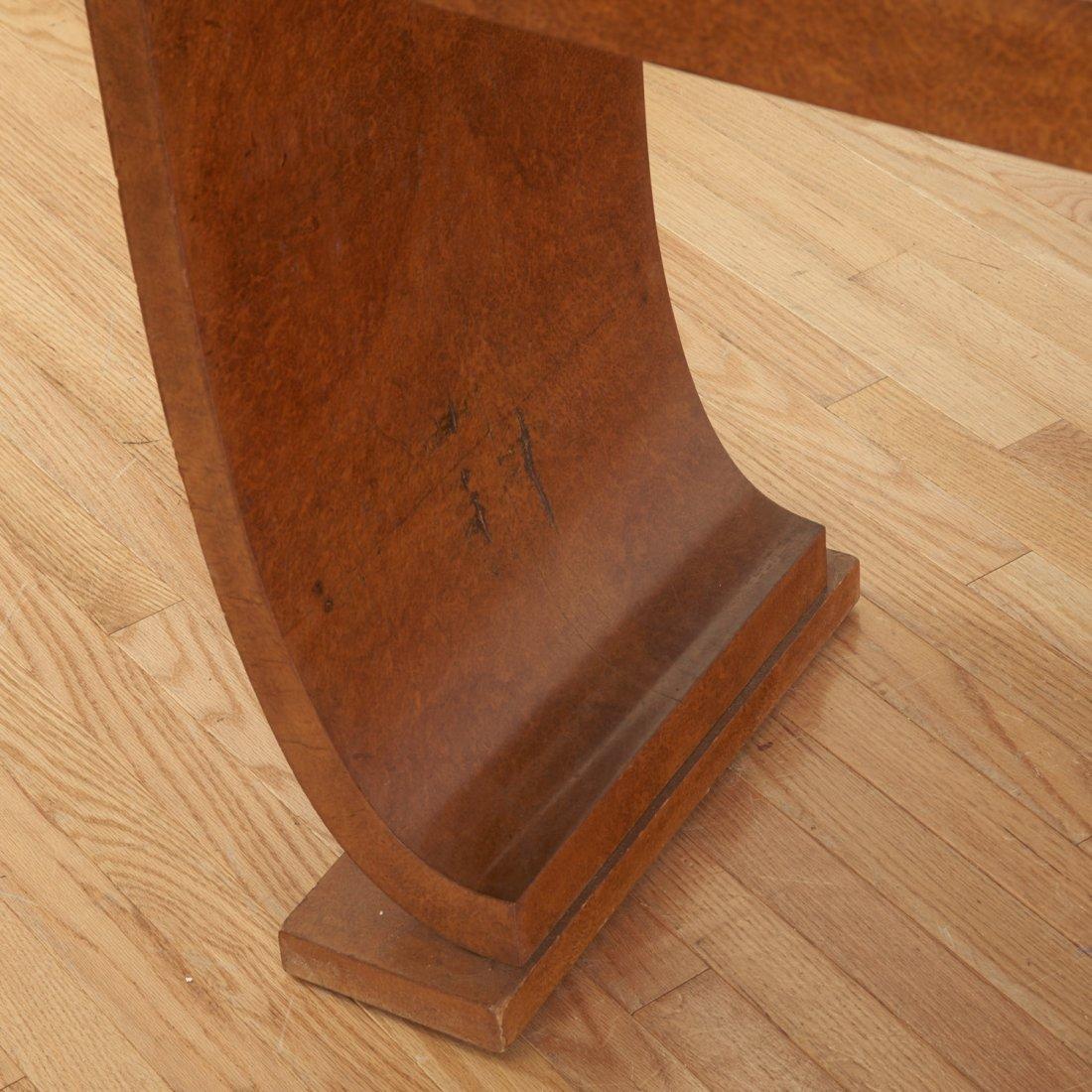 Nice Deco burr wood vanity by Jules Leleu - 2