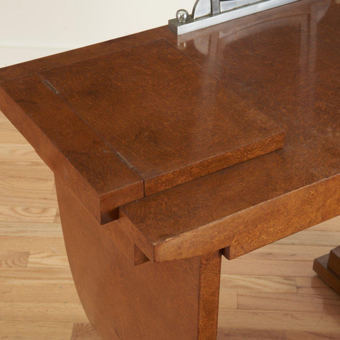 Nice Deco burr wood vanity by Jules Leleu - 3