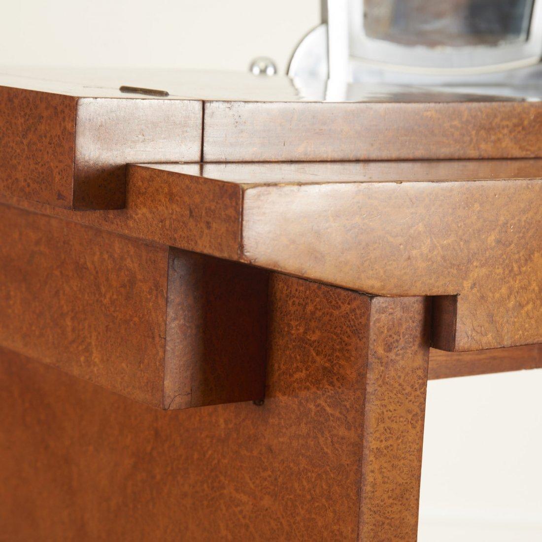 Nice Deco burr wood vanity by Jules Leleu - 4