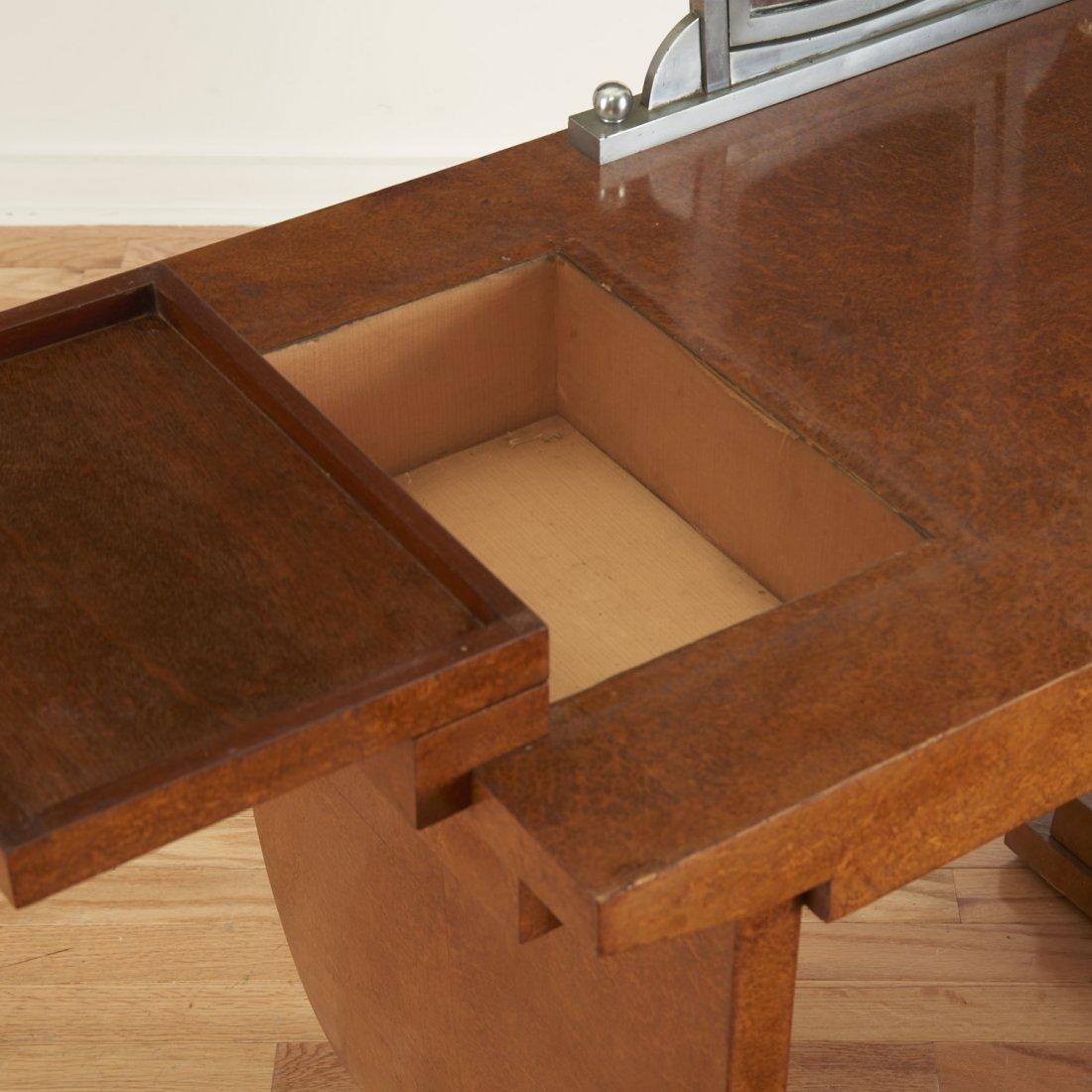 Nice Deco burr wood vanity by Jules Leleu - 6