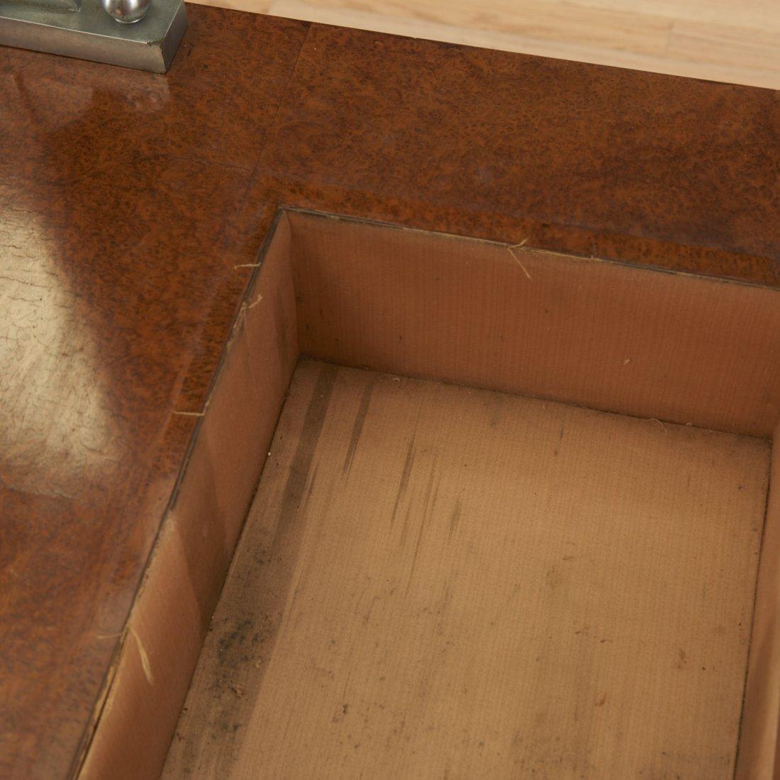 Nice Deco burr wood vanity by Jules Leleu - 7
