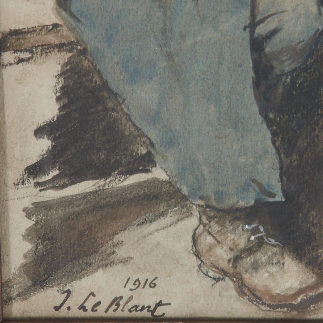 Julien LeBlant, drawing - 4