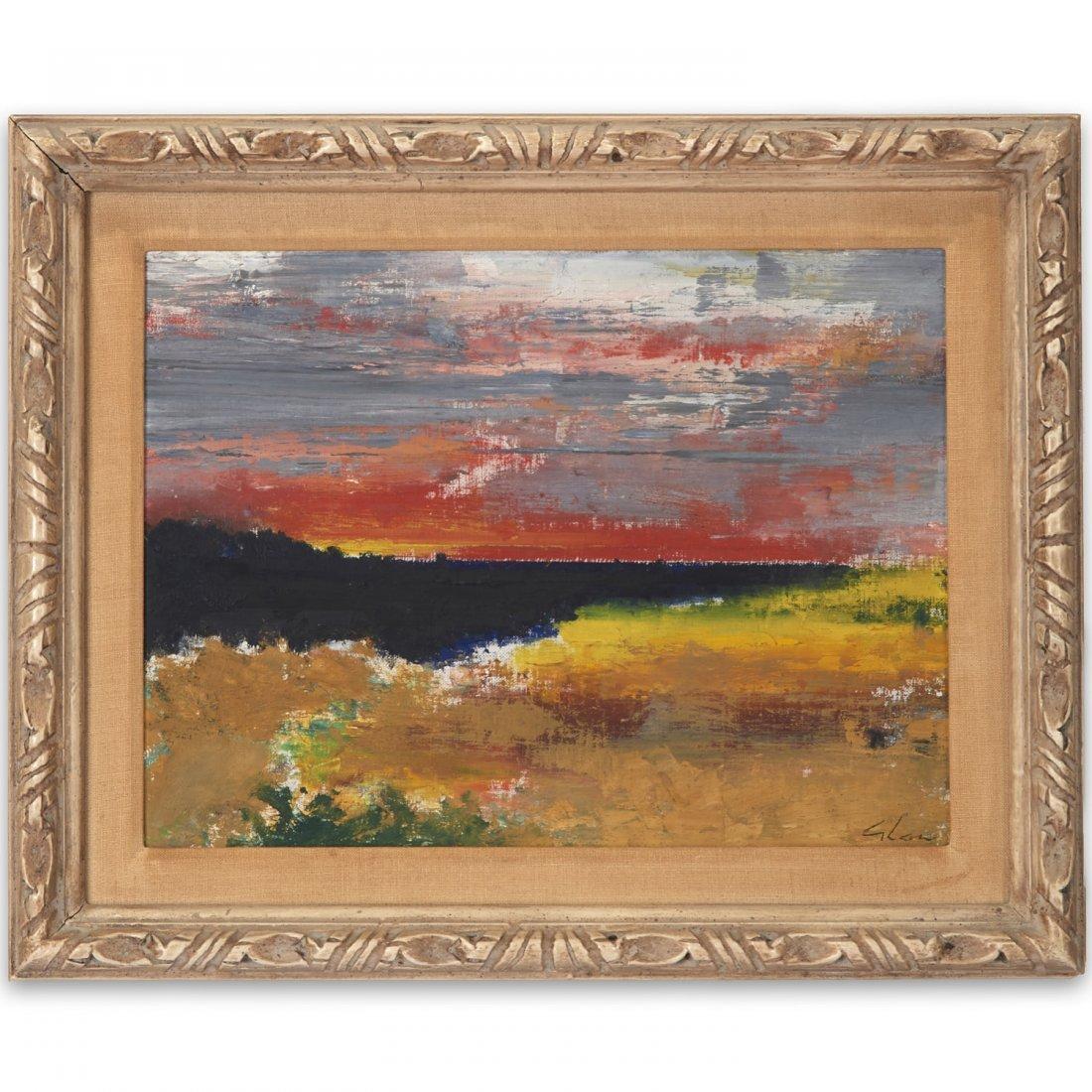 Charles Green Shaw, painting
