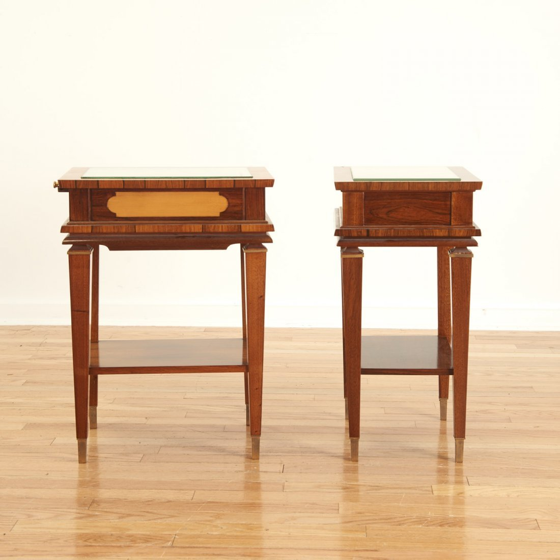 Manner Maxime Old near pair side tables - 6