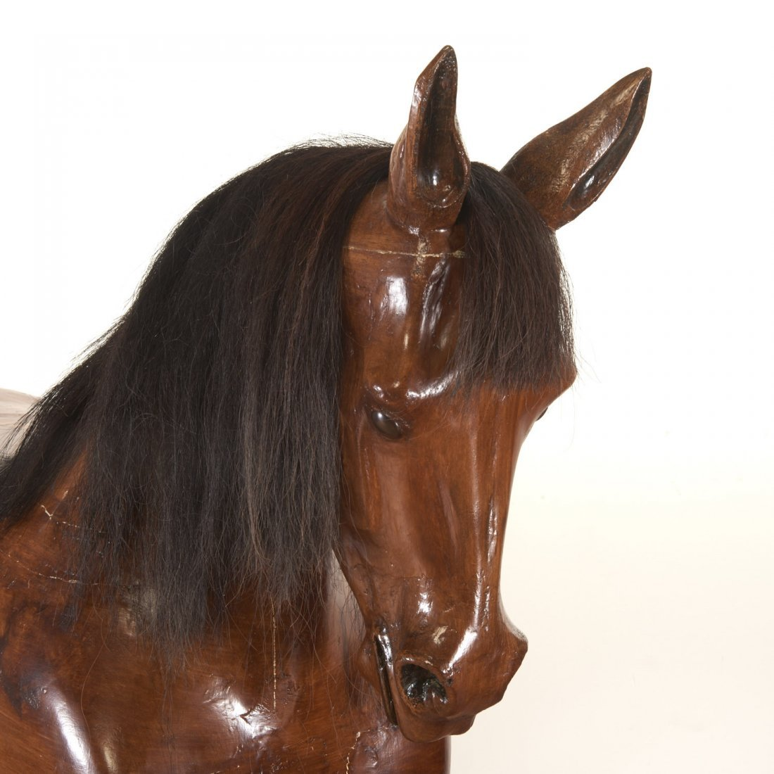 Antique tack shop/saddlery horse mannequin - 2
