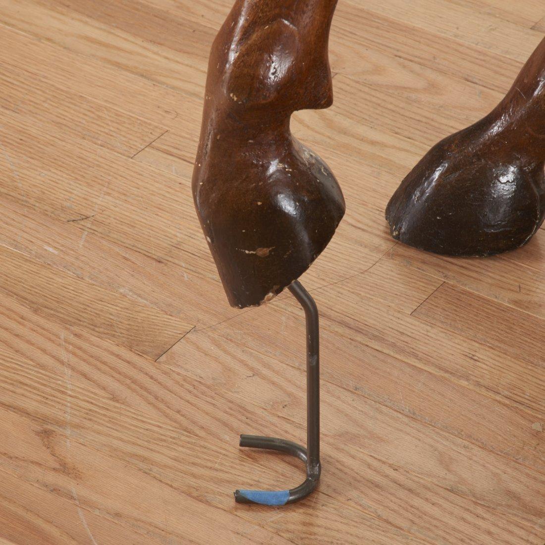 Antique tack shop/saddlery horse mannequin - 6