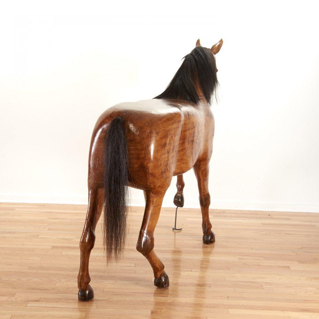 Antique tack shop/saddlery horse mannequin - 7