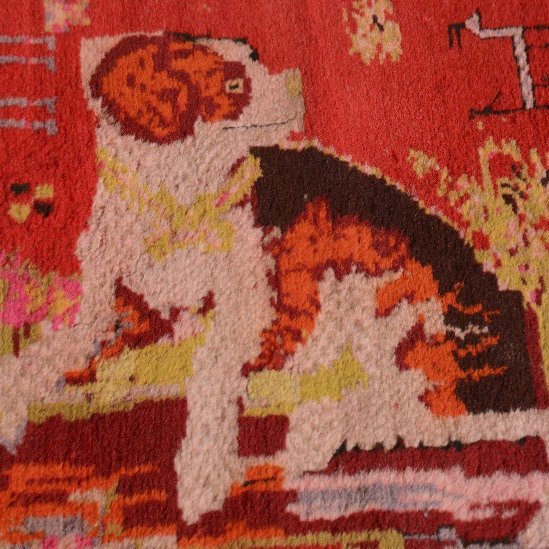 Caucasian European market rug - 4