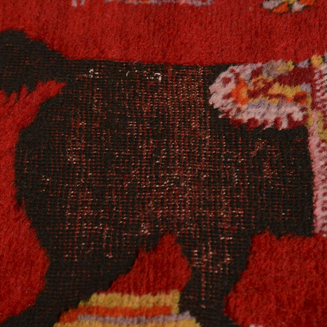 Caucasian European market rug - 5