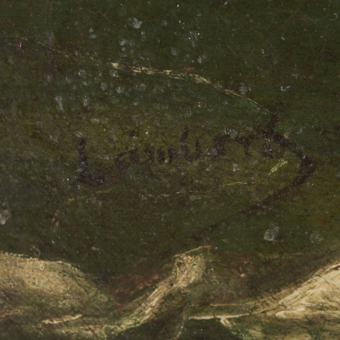 Louis Eugene Lambert, painting - 4