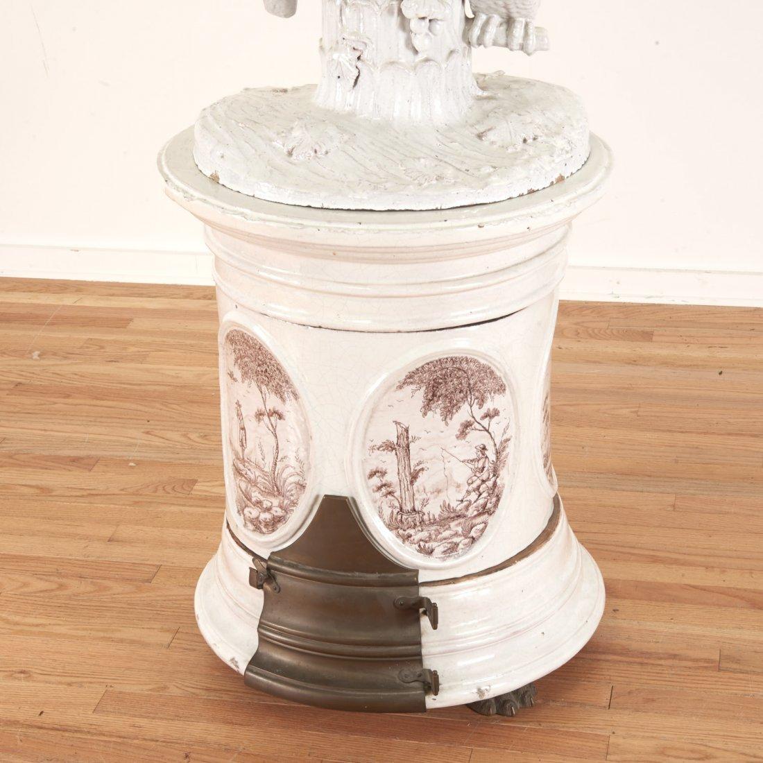 "Continental faience ceramic ""Kachelofen"" stove - 2"