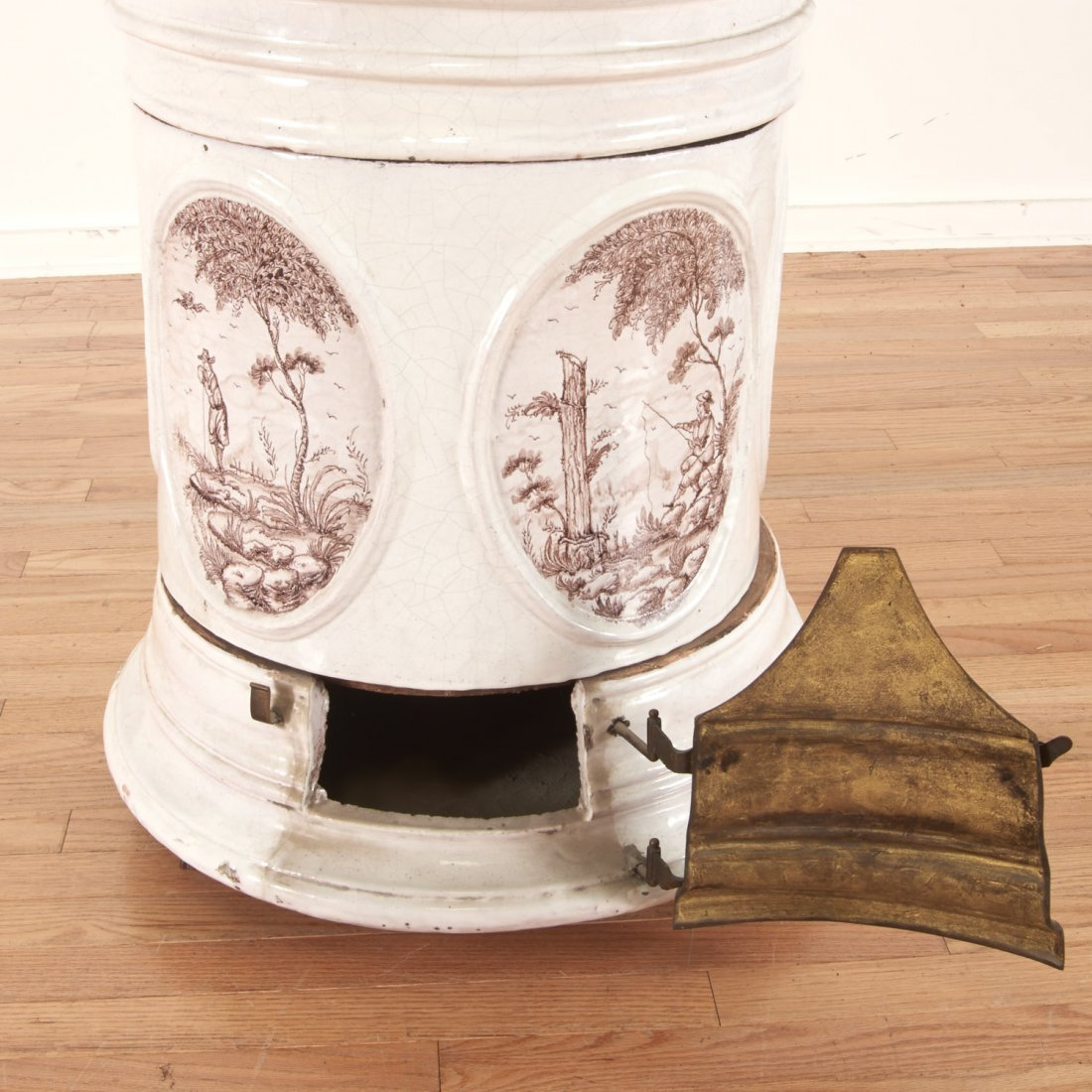 "Continental faience ceramic ""Kachelofen"" stove - 4"