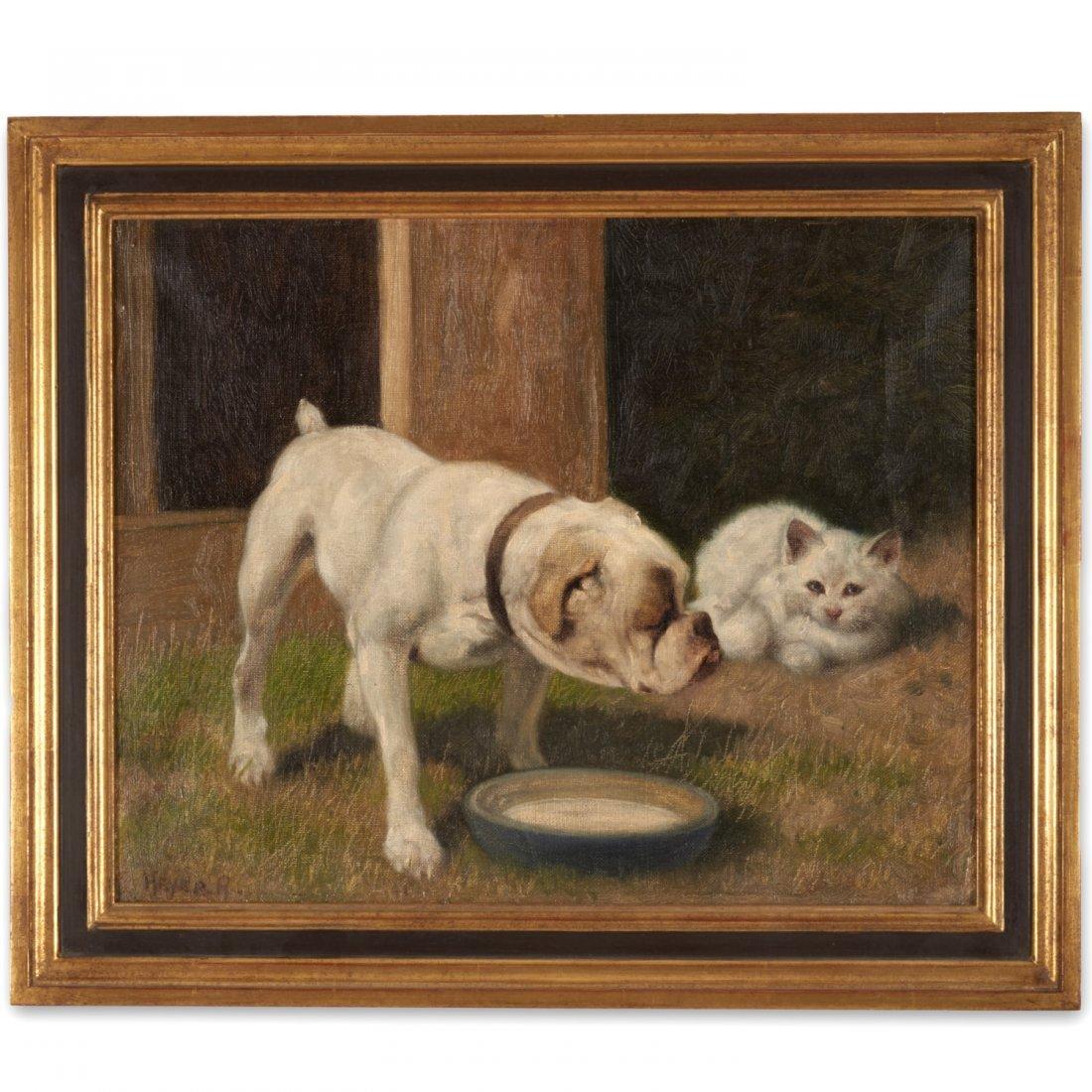 Arthur Heyer, painting