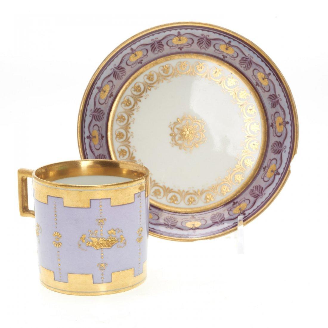 (3) Royal Vienna porcelain teacups/saucers - 5