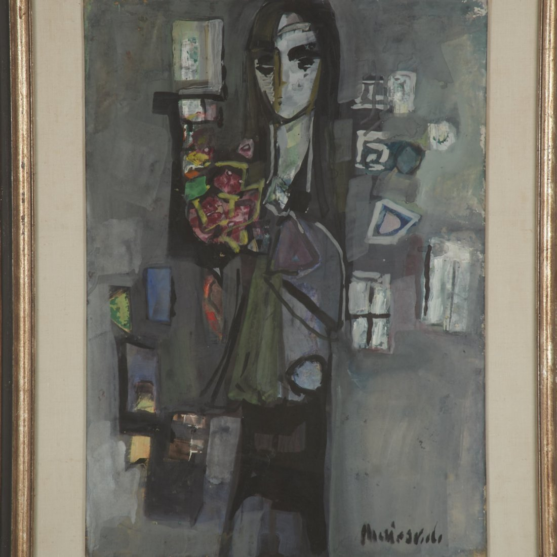 Zvi Mairovich, painting - 2
