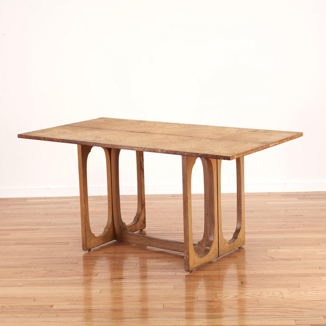 Johan Tapp convertible burl wood console/table - 5