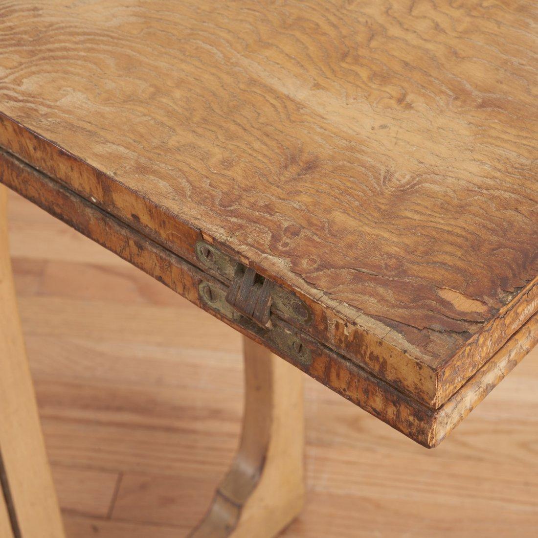 Johan Tapp convertible burl wood console/table - 6
