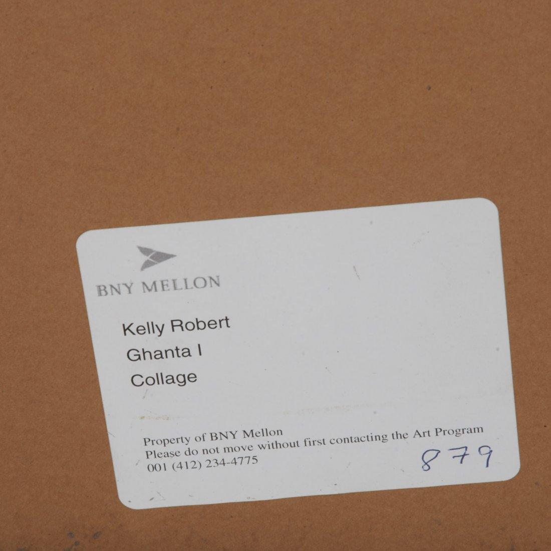 Robert Kelly, large collage monoprint - 10