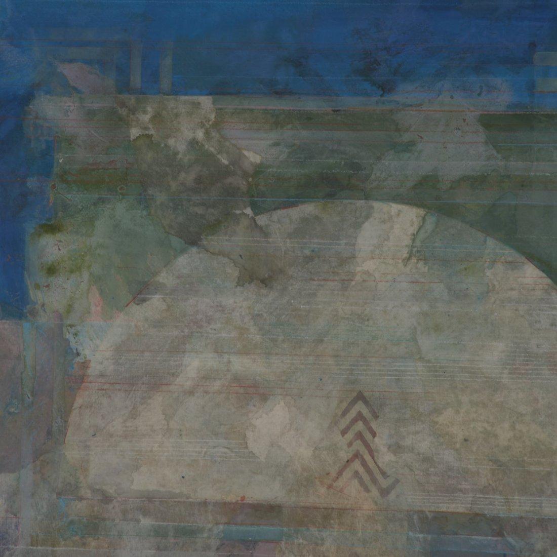Robert Kelly, large collage monoprint - 3