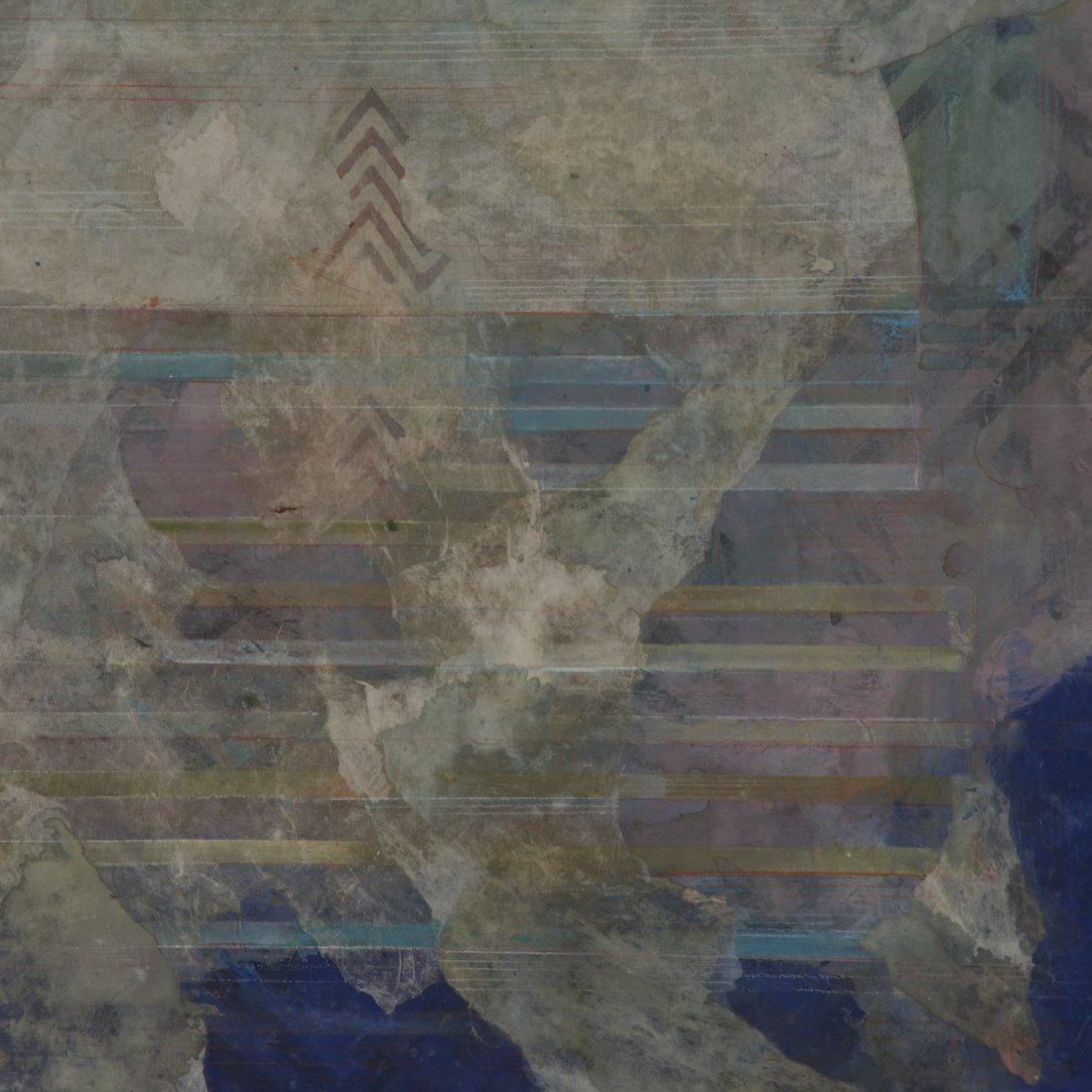 Robert Kelly, large collage monoprint - 4