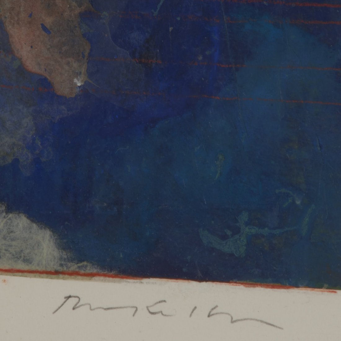 Robert Kelly, large collage monoprint - 5