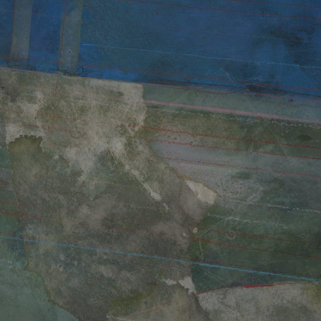 Robert Kelly, large collage monoprint - 6