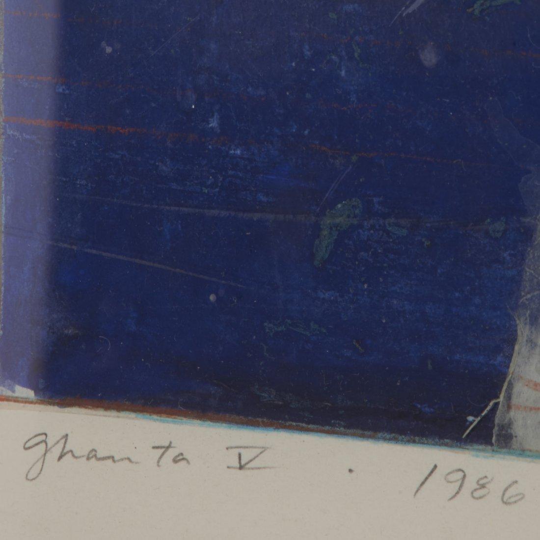 Robert Kelly, large collage monoprint - 7