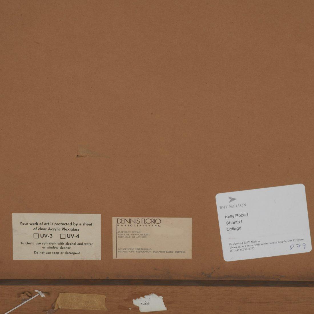 Robert Kelly, large collage monoprint - 9