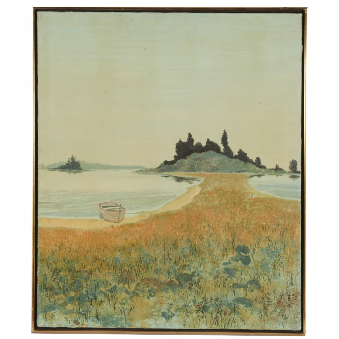 Wering, oil painting