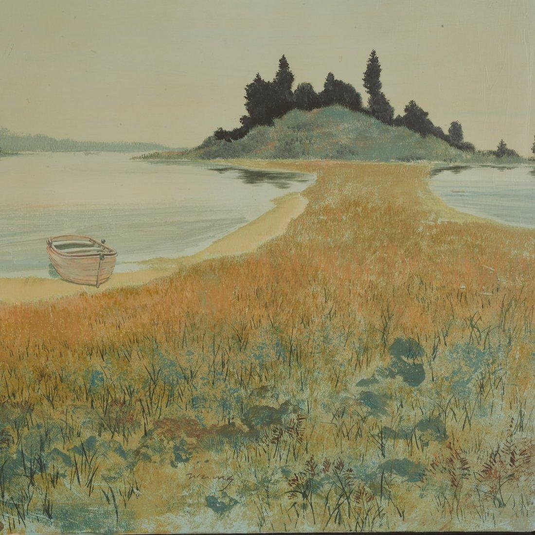 Wering, oil painting - 2