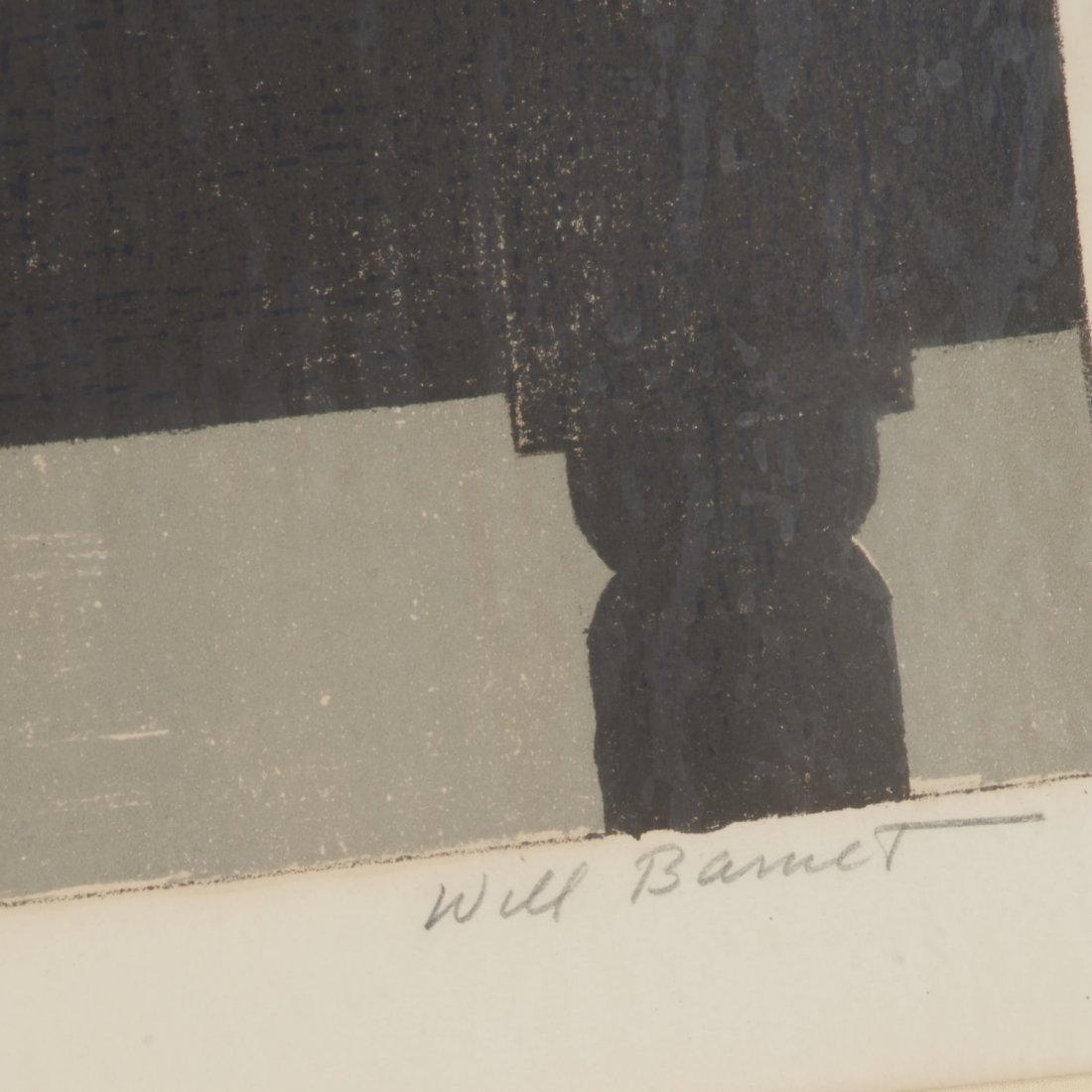 Will Barnet, signed color lithograph - 3