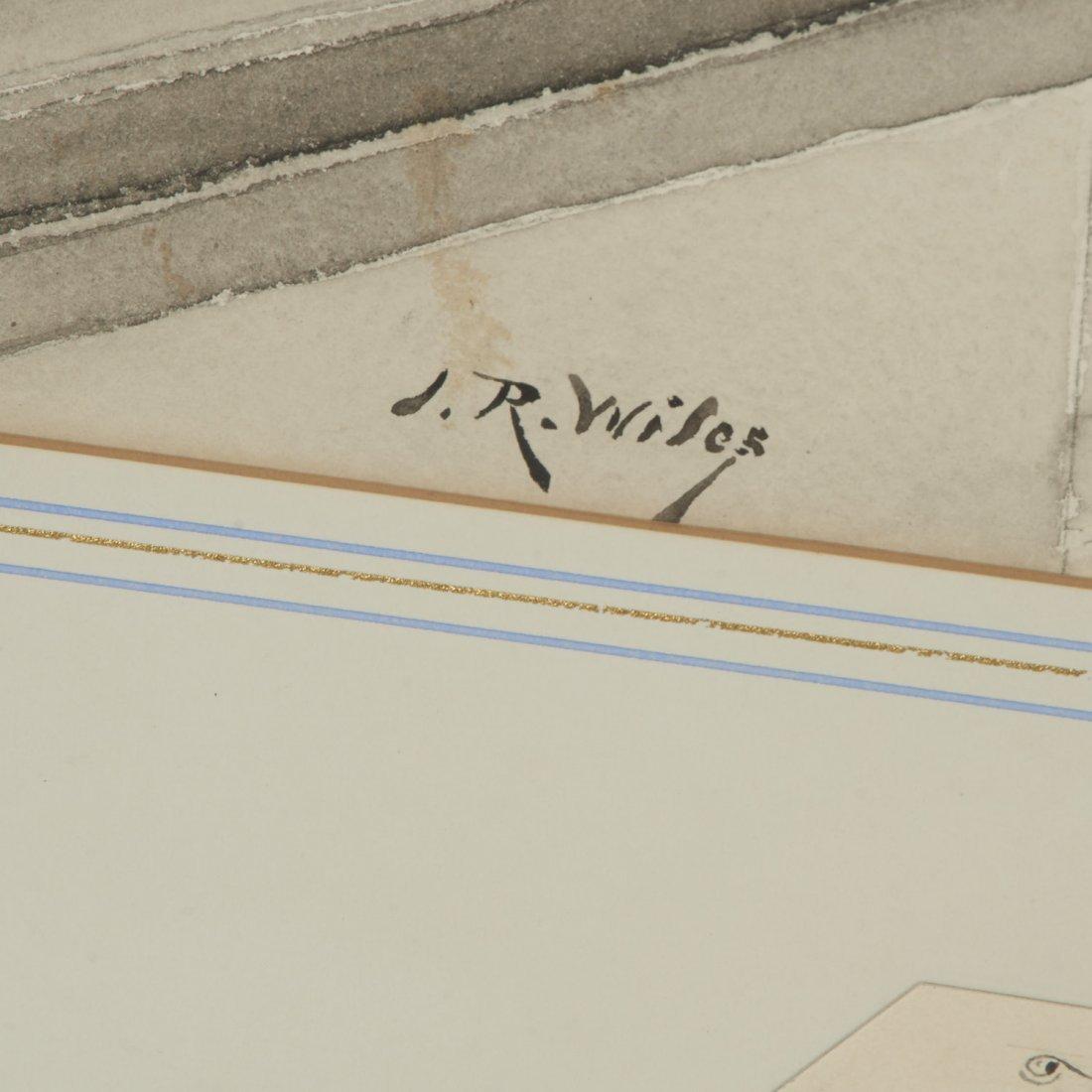 Irving R. Wiles, original gouache - 3