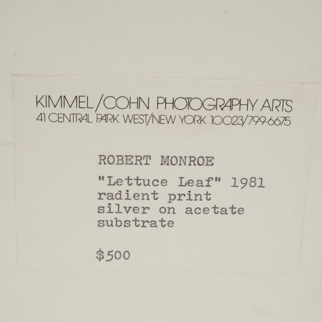 Robert Monroe, photograph - 5
