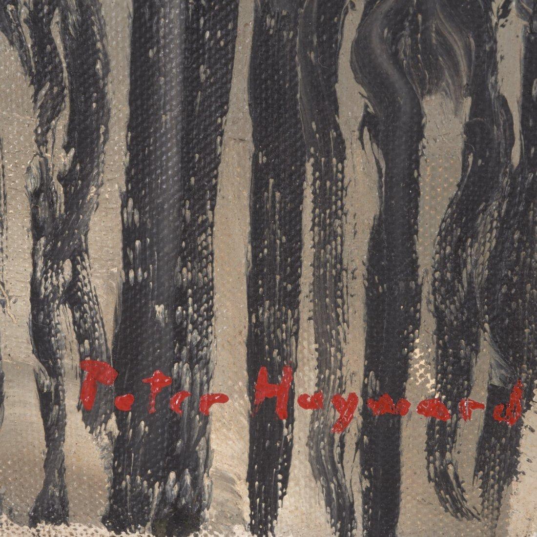 Peter Hayward, (2) paintings - 4
