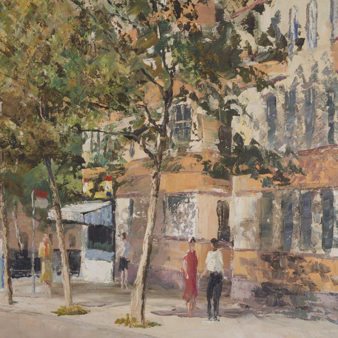 Peter Hayward, (2) paintings - 5